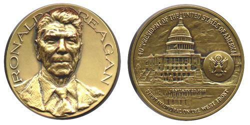 Mca Official Presidential Inaugural Medals Collector S Guide